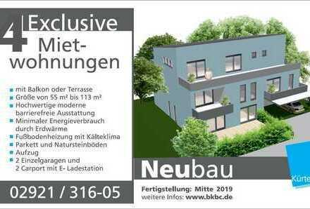 Erstbezug: schöne 3-Zimmer-Wohnung mit Balkon in Soest