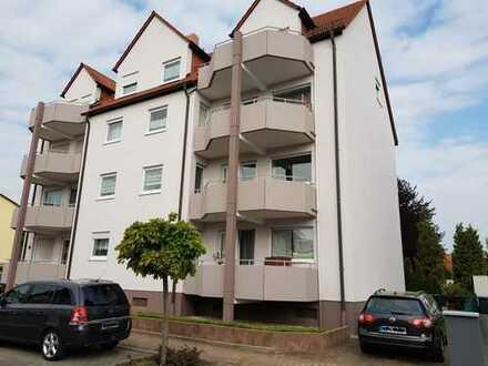Gepflegte 2-Zimmer-Wohnung mit Balkon in Limburgerhof