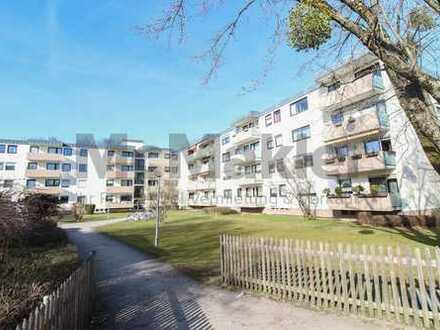 Urban, gehoben und lichtdurchflutet: Modernisierte 3-Zi.-ETW mit Balkon in Altperlach - Erbpacht!