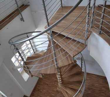 3-R.-Galeriewohnung mit Blick auf die Saale - Fabrik-Etagen am Ochsenberg