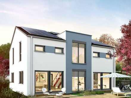 Einfamilienhaus KfW 55 Standard mit Grundstück