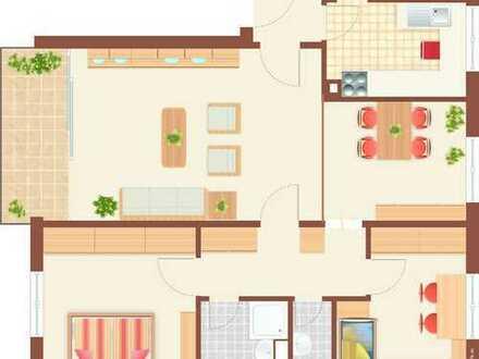 Gepflegte 4-Zimmer-Wohnung mit Balkon in Rodenbach