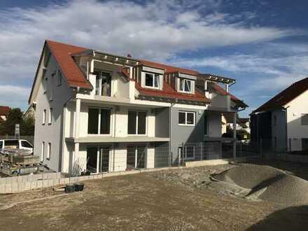 MH Immobilien-Neubau Erstbezug! Helle 3-Zimmerwohnung mit EBK