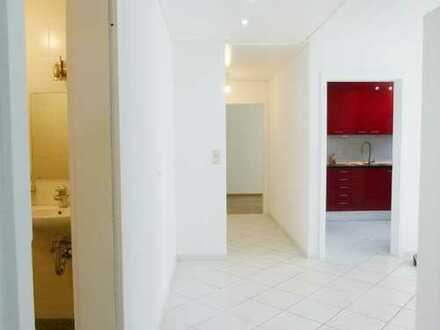 Renovierte 3,5-Zimmer-Wohnung mit Garten und Garage in schöner Waldrandlage