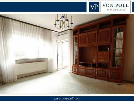 Renovierungsbedürftige Zwei-Zimmer-Wohnung in 1A-Lage