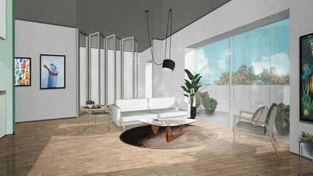 Baugruppenprojekt! Hochwertige Wohnung mit Balkon-ökologische Bauweise - Personenaufzug -