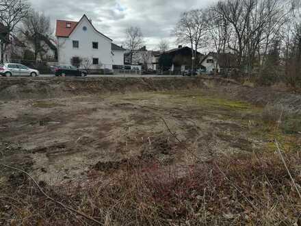 Baubeginn sofort möglich!!! Grundstück mit Baugenehmigung 4-Spänner in zentraler Lage von Mering!