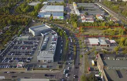 Provisionsfrei - Gewerbegrundstück in sehr frequentierter Lage gegenüber Audi-Zentrum
