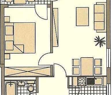 Schöne, möblierte Wohnung in Botnang in idealer Lage