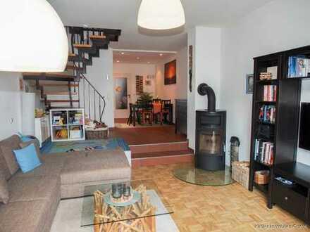 Wohnung über drei Etagen in ruhiger Lage zu vermieten