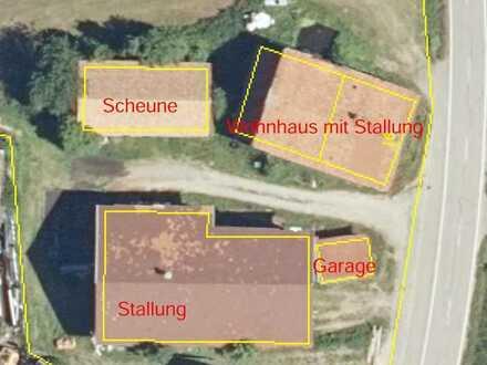 Verkauf ehemalige Hofstelle mit 31 ha Grund