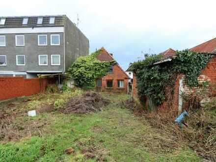 Baulücke mit B- Plan in Oldenburg für Wohnungen oder Stadtvilla - sehr zentral im Zentrum gelegen