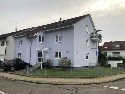 Gepflegte 3-Zimmer-EG-Wohnung mit Terrasse in Waghäusel