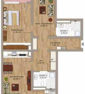 Seniorenwohnen _max_am Rennweg - 4-Zimmer-Wohnung