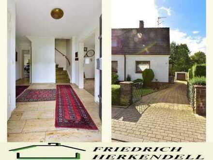 Doppelhaushälfte + großer Wohn-/Essbereich + Wohnküche + Süd-West-Grundstück + ruhige Seitenstraße