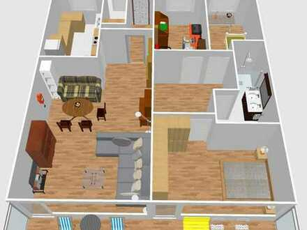 Modernisierte 4-Zimmer-Wohnung mit Balkon und Einbauküche in Villingen-Schwenningen