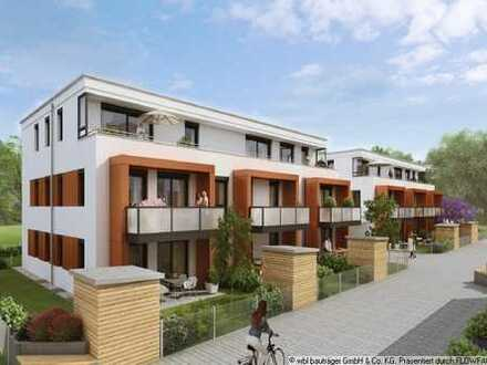 Ganz neu - Lichtdurchflutete 4-Zimmer-Wohnung im beliebten Familienwohngebiet
