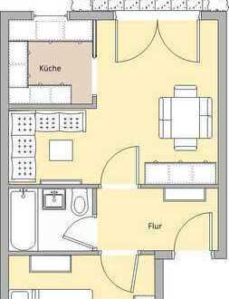 Schöne, zwei Zimmer Wohnung in Lengenfeld