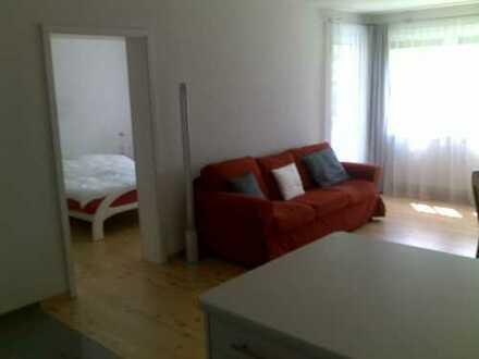 Neuwertige 2-Zimmer-Hochparterre-Wohnung mit Balkon und EBK in Büsingen am Hochrhein