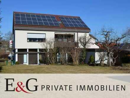 ***2-Familienhaus mit Gewerbeeinheit und Bauplatz in Jettingen***