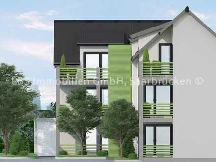 Ende 2021 bezugsfertig - Neubau-Wohnungen in Neunkirchen-Wiebelskirchen - ruhig und dennoch zentral