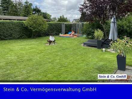 RESERVIERT Schöne Wohnung mit großer Terrasse und Garten, EBK, Garage
