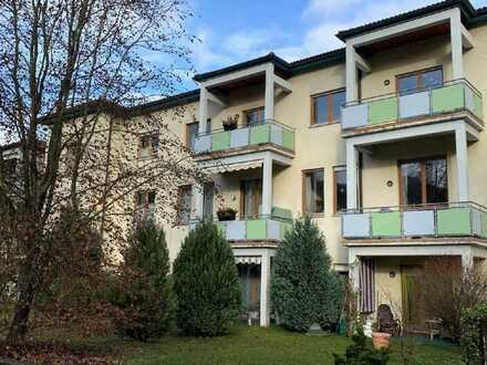 Zwei Zimmer Eigentumswohnung mit Gartenanteil