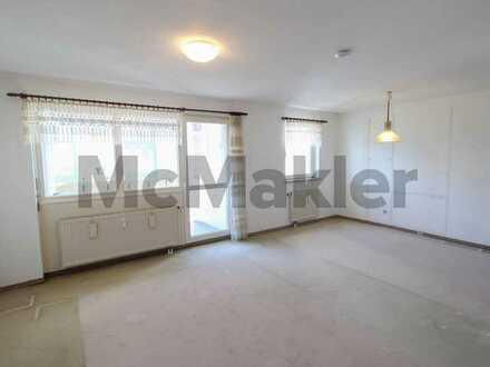 Einziehen oder vermieten – Geräumige Wohnung mit Balkon und TG-Stellplatz in grüner Stadtrandlage