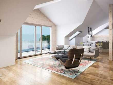 Penthouseflair mit grandiosem Seeblick - Premium Neubau-Dachwohnung mit Direktlift!