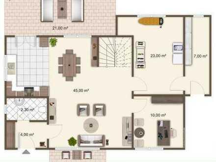 Sehr modernes Einfamilienhaus in kinderfreundlicher Wohnsiedlung