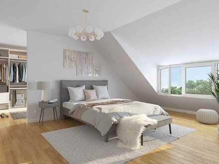 Erstbezug: 5-Zimmer-Dachgeschosswohnung mit Ost-Terrasse