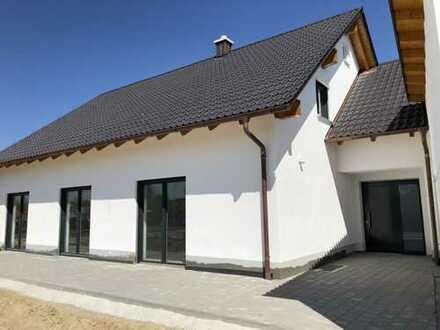 ERSTBEZUG: Helle 3-Zimmer-EG-Wohnung mit Garten in Langenbruck, barrierefrei