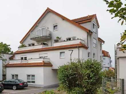Sofort frei - Renovierte, Rollstuhl und altengerechte 2 Zimmer Wohnung im Zentrum von Nußloch
