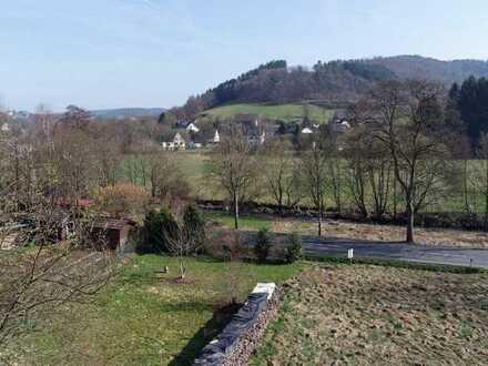 Preiswertes Baugrundstück mit Blick in das Wissertal in Morsbach-Rhein