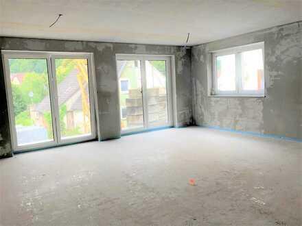 Neubau Untergimpern, eine Gartenwohnung endlich bezahlbar !