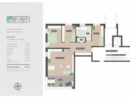 Großzügige 4-Zimmer-Wohnung