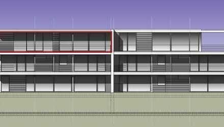 Perfekt konzipiertes Penthouse mit großzügiger Dachterrasse
