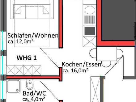 Erstbezug - 1 Zimmer - Obersulm-Willsbach (WHG 1)