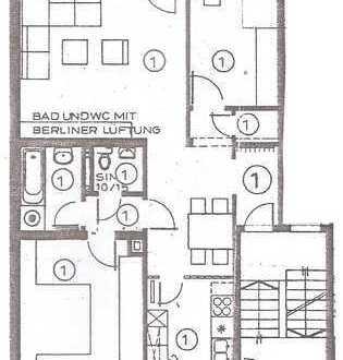Altenbochum - Wohnung in gepflegter, ruhiger Lage