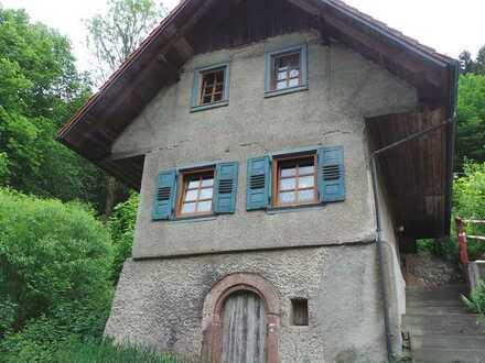 Renovierungsbedürftiges 3-Zimmer-Einfamilienhaus in Schiltach, OT Vorderlehengericht