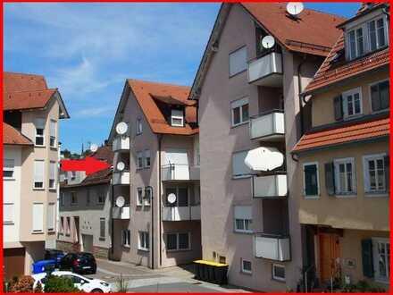 *** Tolle Wohnperspektive im Alter!! *** Barrierefreie 2 Zimmer Wohnung mit Balkon im Ortskern
