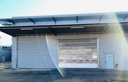 Lager-/ Produktionsflächen,  mit Büroeinheit in attraktiver Lage