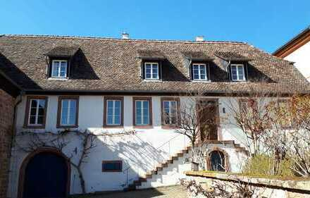 Ehemalige Mühle aus dem 18. Jahrhundert an der Weinstraße