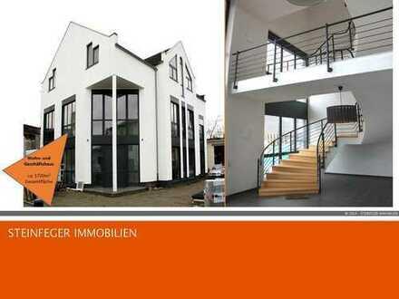 Nidderau: Wohn- und Geschäftshaus | TOP Lage an der B521 | ca. 870 m² Flächen | 1.700 m² Grundstück