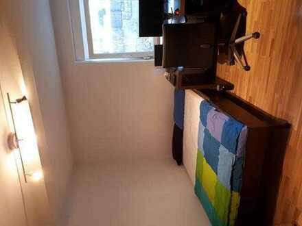 Möbiliertes 15-20qm WG-Zimmer im Gartengeschoss, 5 min zur BA, FH