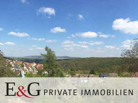 ***5-Zimmer-Dachgeschoss-Maisonette-Wohnung mit unverbaubarem Weitblick in Stuttgart-Sillenbuch***