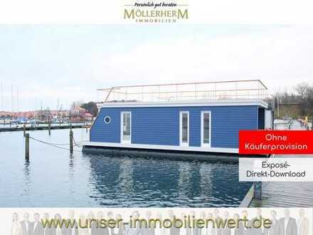 Hausboot als Ferienobjekt in Marina Minde