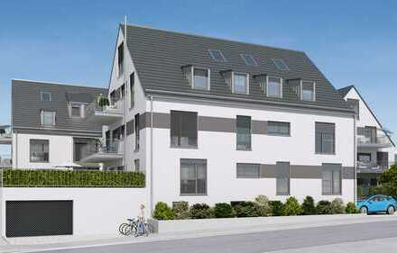 Erstbezug: Stilvolle 3-Zimmer-Wohnung mit Balkon
