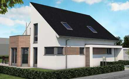Düsseldorf-Wittlaer - Individueller Neubau eines Architektenhauses in bester Wohnlage