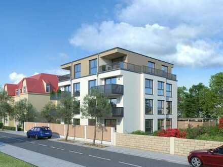 Erdgeschosswohnung mit Terrasse und Garten 3 Zimmer Aufzug Keller KfW55